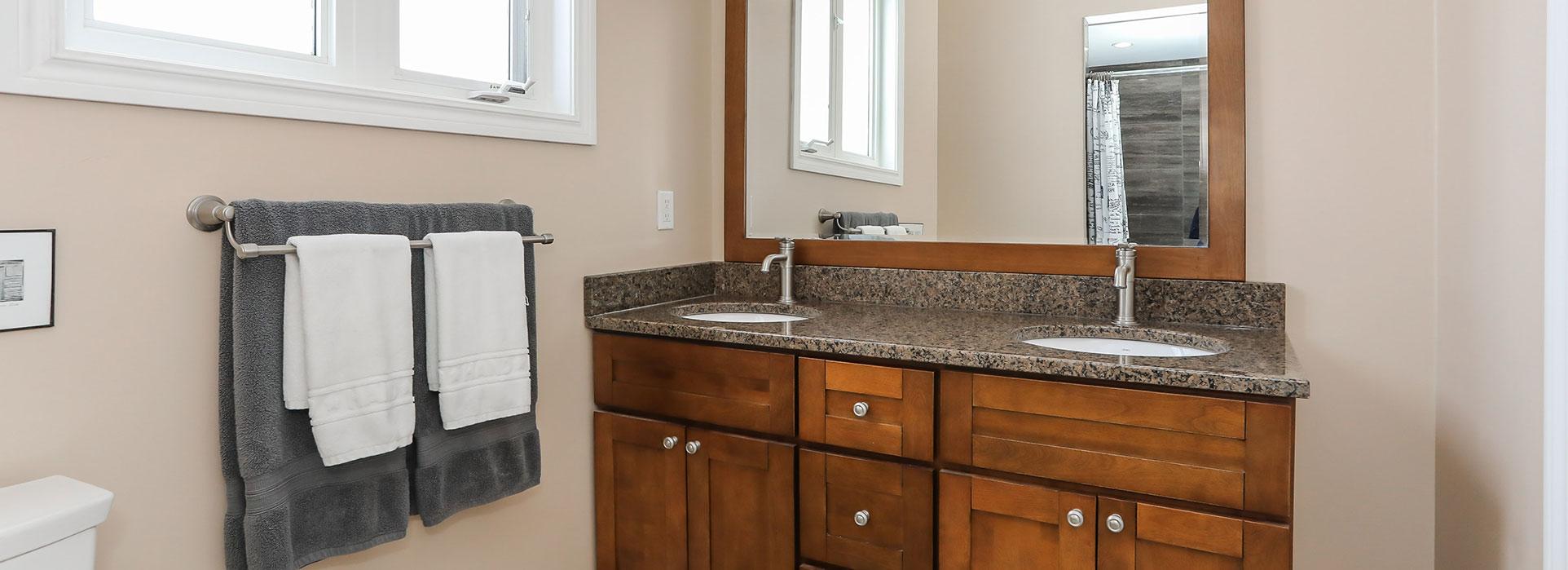 22 Merrington Avenue - Double Sink Bathroom - Cripps Realty