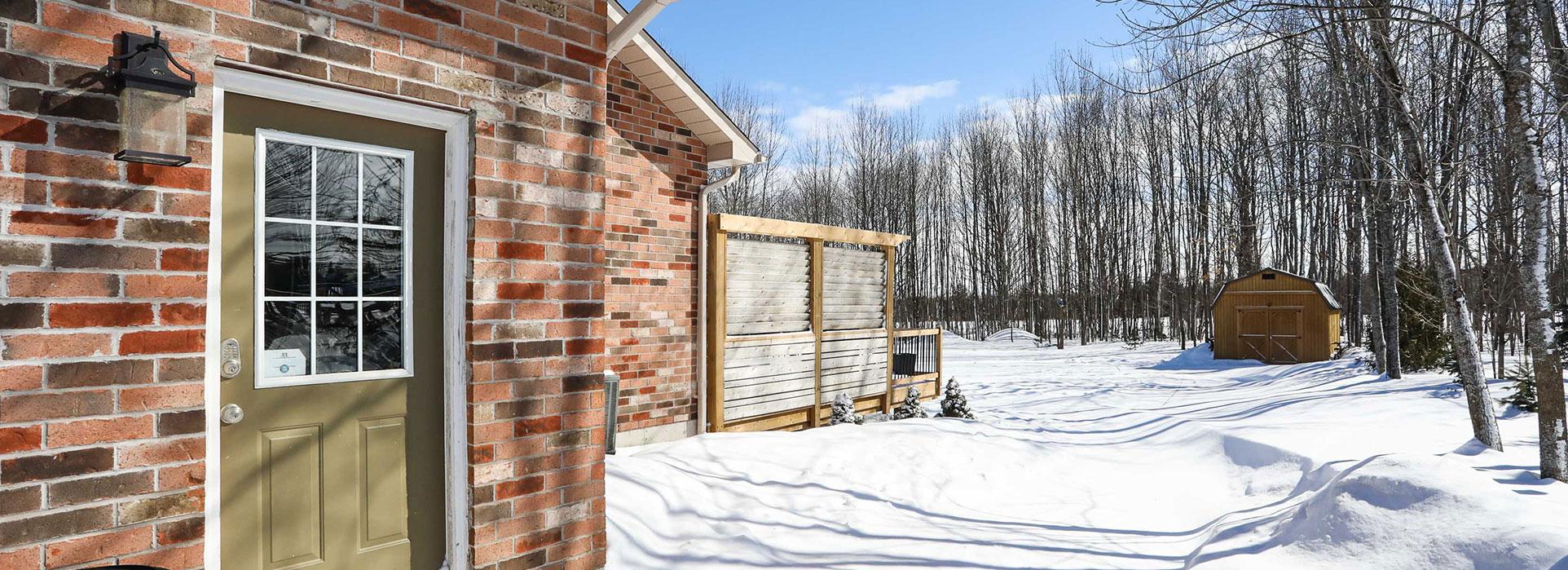 29 Merrington Avenue - Backdoor/ Garage Door - Cripps Realty
