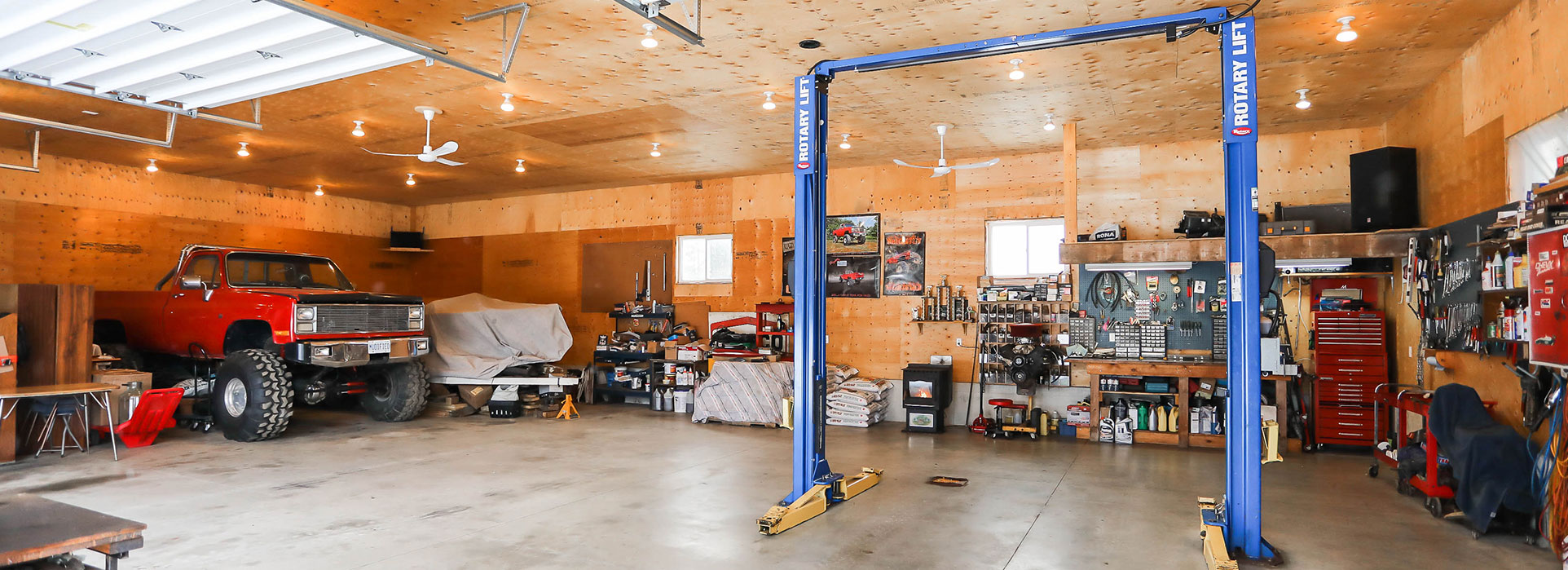 5870 Concession 2 - Interior of Detached Garage - Cripps Realty