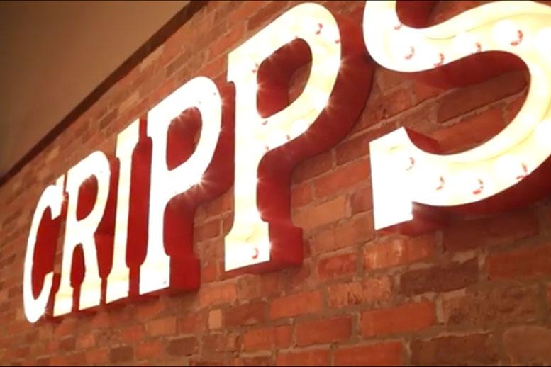 Cripps in neon